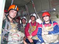 Прыжки с парашютом, 2007г.