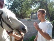 Катание на лошадях, 2008г.