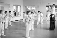 Детская тренировка в АйкиЦентре, 02.10.15