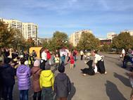"""Показательное выступление в парке """"Позняки"""", 17.10.15"""