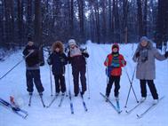 Поход на лыжах, 24.01.16