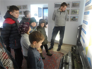 Экскурсия учеников Луцкого отделения в музей оружия и техники, 23.01.16